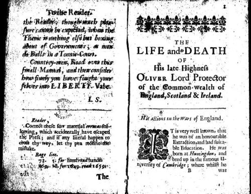 """oliver cromwell thesis statements Oliver cromwell and the siege of drogheda lukas dregne follow this and additional works at: http://scholarworksumtedu/utpp this thesis is brought to you for free and open access by scholarworks at university of montana to the sword, no matter what some authors might say""""13 this statement is telling for reasons."""